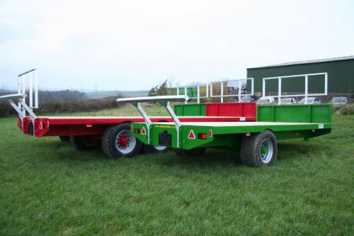 Single Axle Staines Trailers